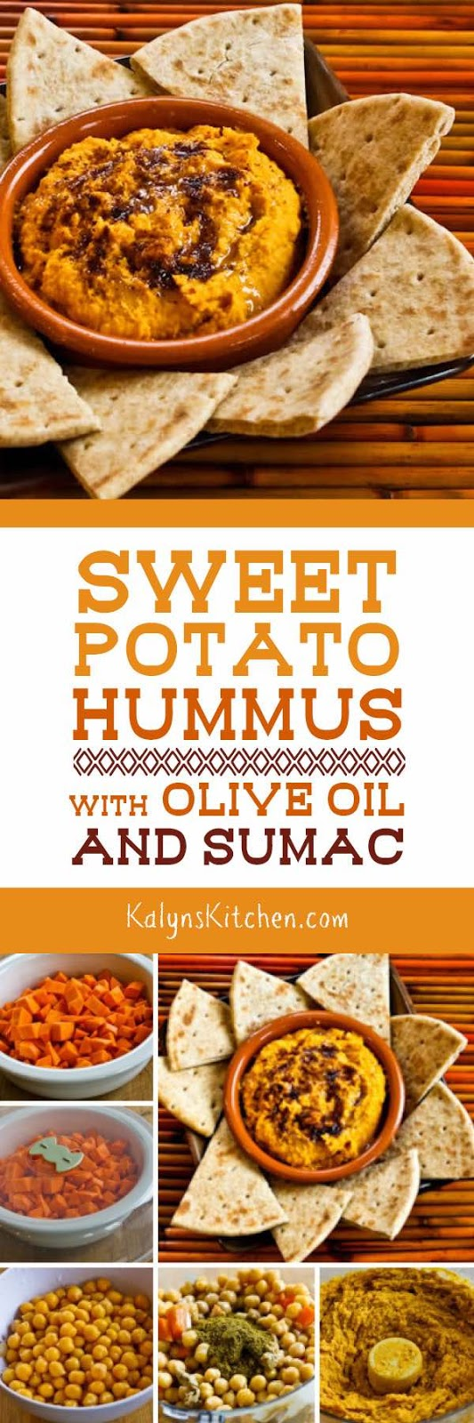 Sweet Potato Hummus with Olive Oil and Sumac - Kalyn's Kitchen