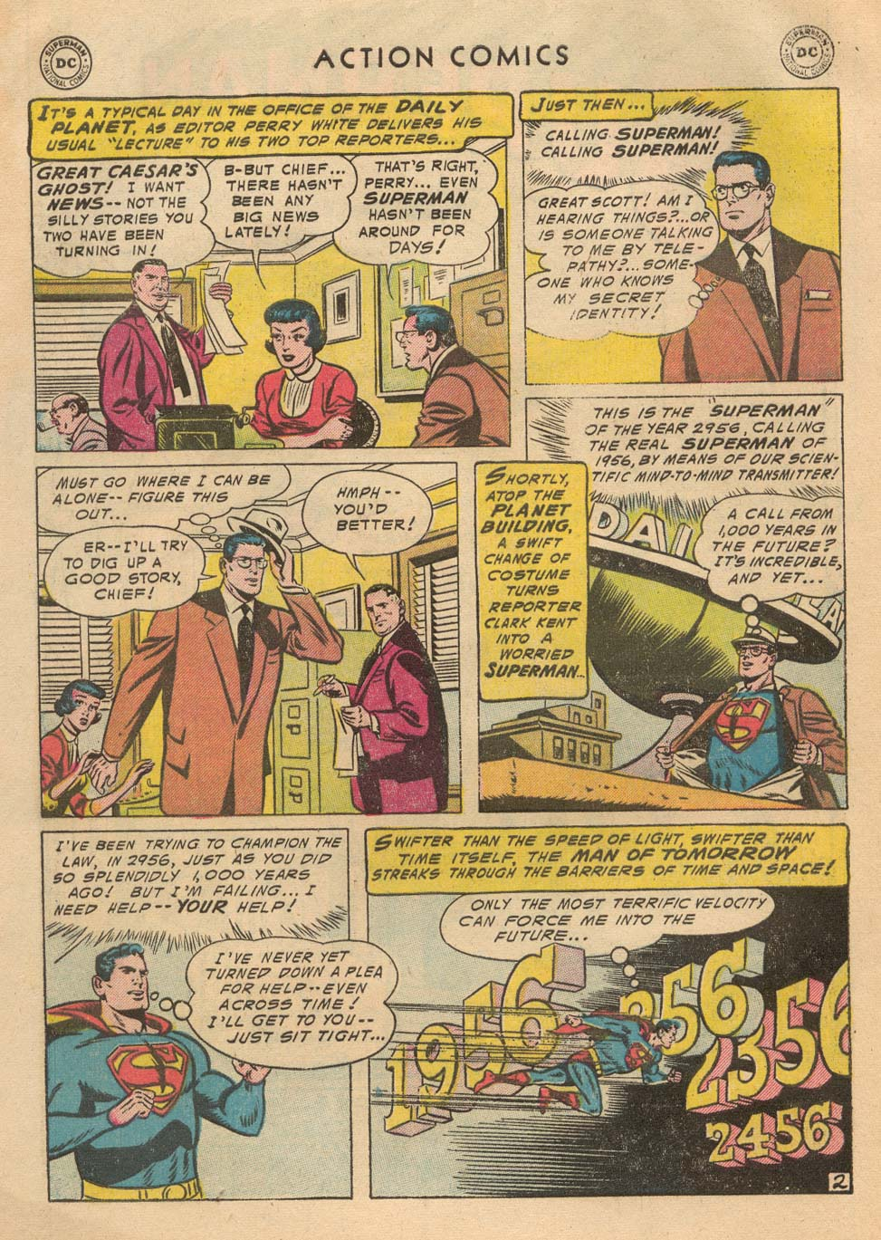 Read online Action Comics (1938) comic -  Issue #215 - 4