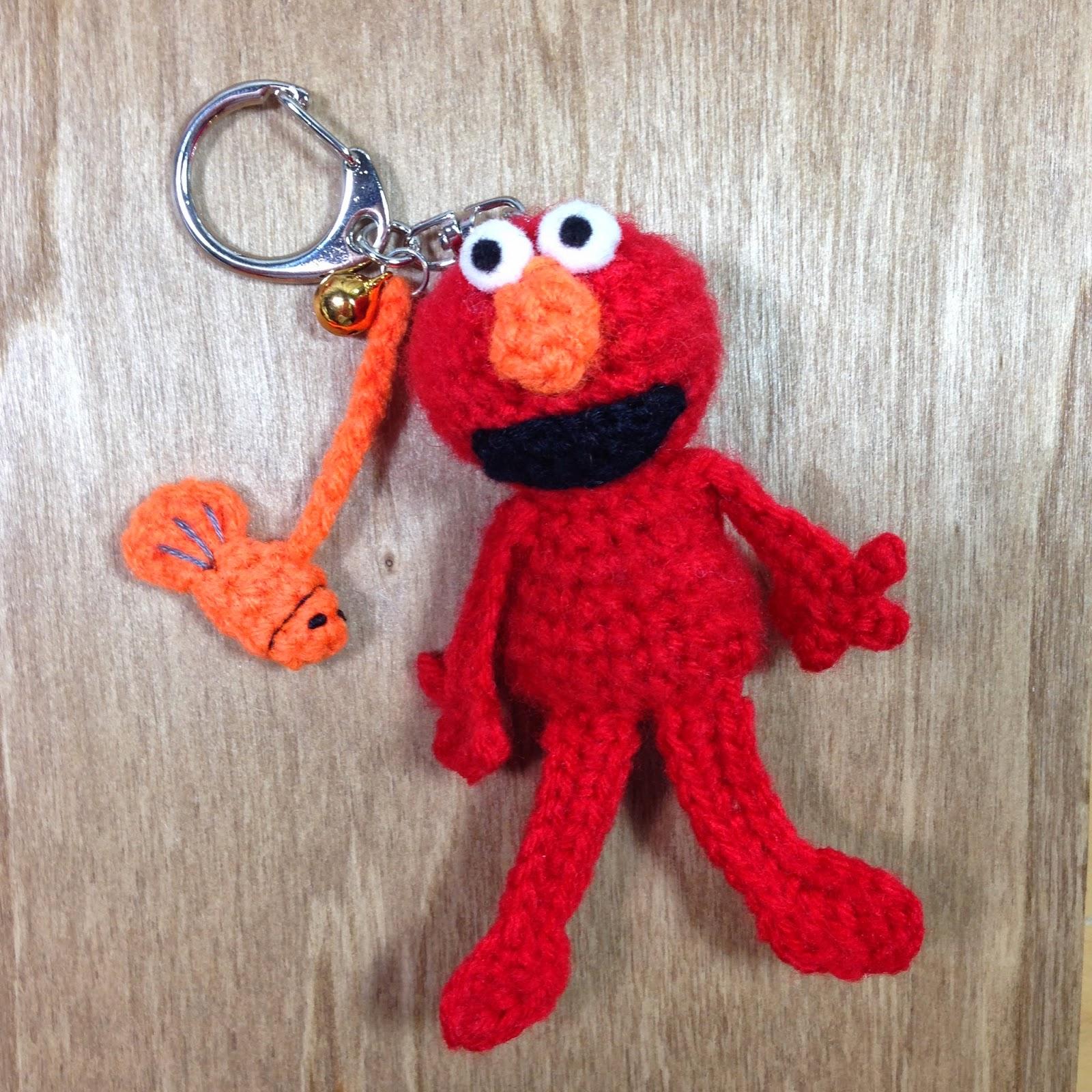 Mini Crochet Elmo - free crochet / amigurumi pattern & stuff susie made: Mini Crochet Elmo - free crochet / amigurumi pattern