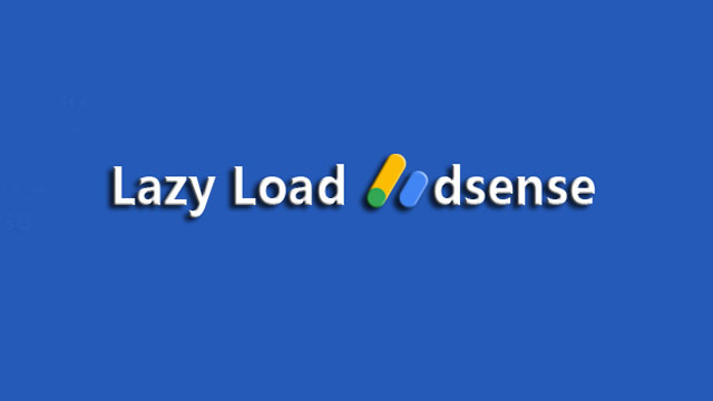 Lazy Load Adsense
