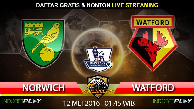 Prediksi Norwich vs Watford 12 Mei 2016 (Liga Inggris)
