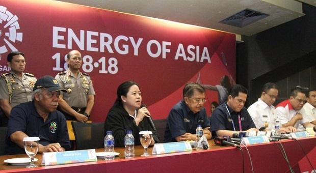 Menko PMK Hadiri Rapat Kesiapan Terakhir Pelaksanaan Asian Games 2018