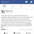 Akaun FB dan Twitter Najib Razak kena spam 20 sen