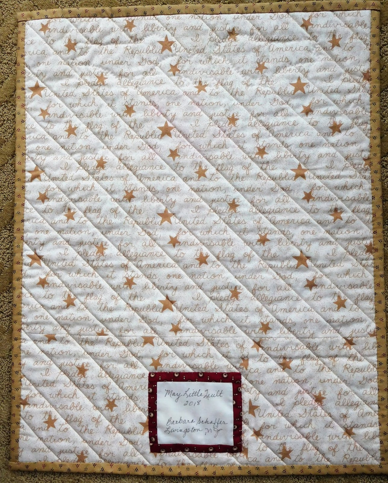 Quilts Gravestones and Elusive Ancestors May 2018
