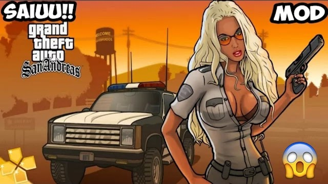 Gta San Andreas PPSSPP e PSP Gráficos HD Para Android