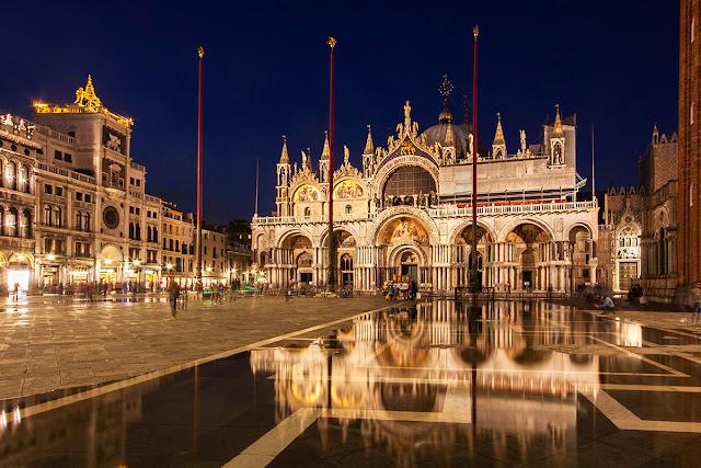 Passeio pelas principais praças de Veneza
