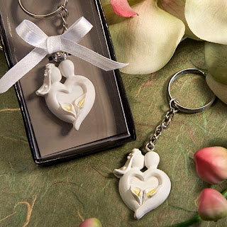 bride and groom keychain