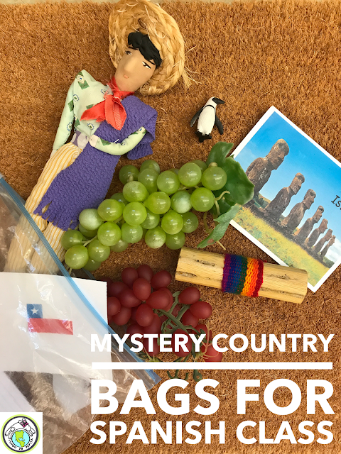 Mystery Country Bags - A Culture Activity for Spanish Class