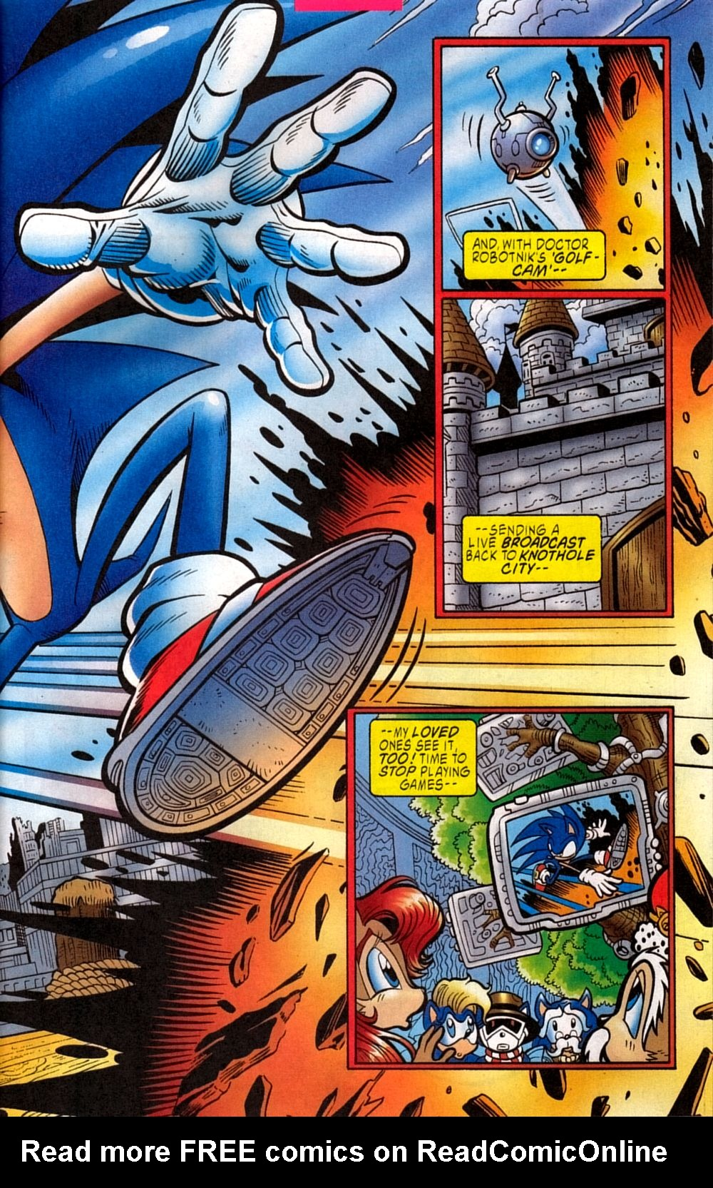 Read online Sonic The Hedgehog comic -  Issue #133 - 5