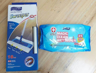 Alat Pel Lantai Praktis Magic Clean Wet Wiper