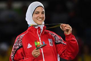 ابطال مصر فى الأولمبياد فى استضافة مدحت شلبى علي اون سبورت