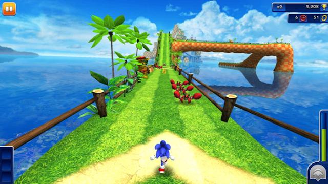 Sonic Dash Game Free