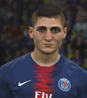 PES 2017 Faces Marco Verratti by Ben Hussam FaceMaker