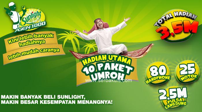 Promo Berhadiah 25 Motor dan 80 Handphone GRATIS!