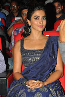 Pooja Hegde choli saree at DJ Duvvada Jaggannadham music launch ~  Exclusive 116.jpg