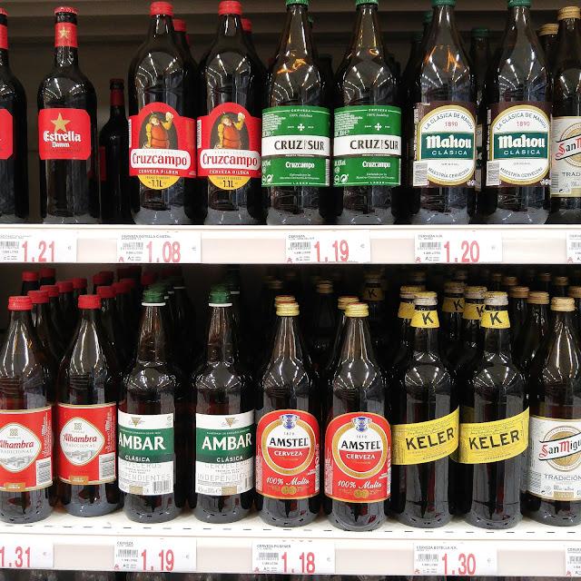 estrella,biere,barcelone,espagne,cruzcampo,blog,madame-gin