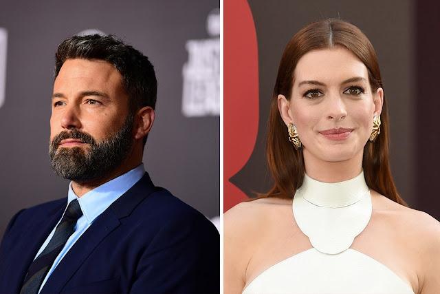 Ben Affleck y Anne Hathaway protagonizarán nueva película de Netflix