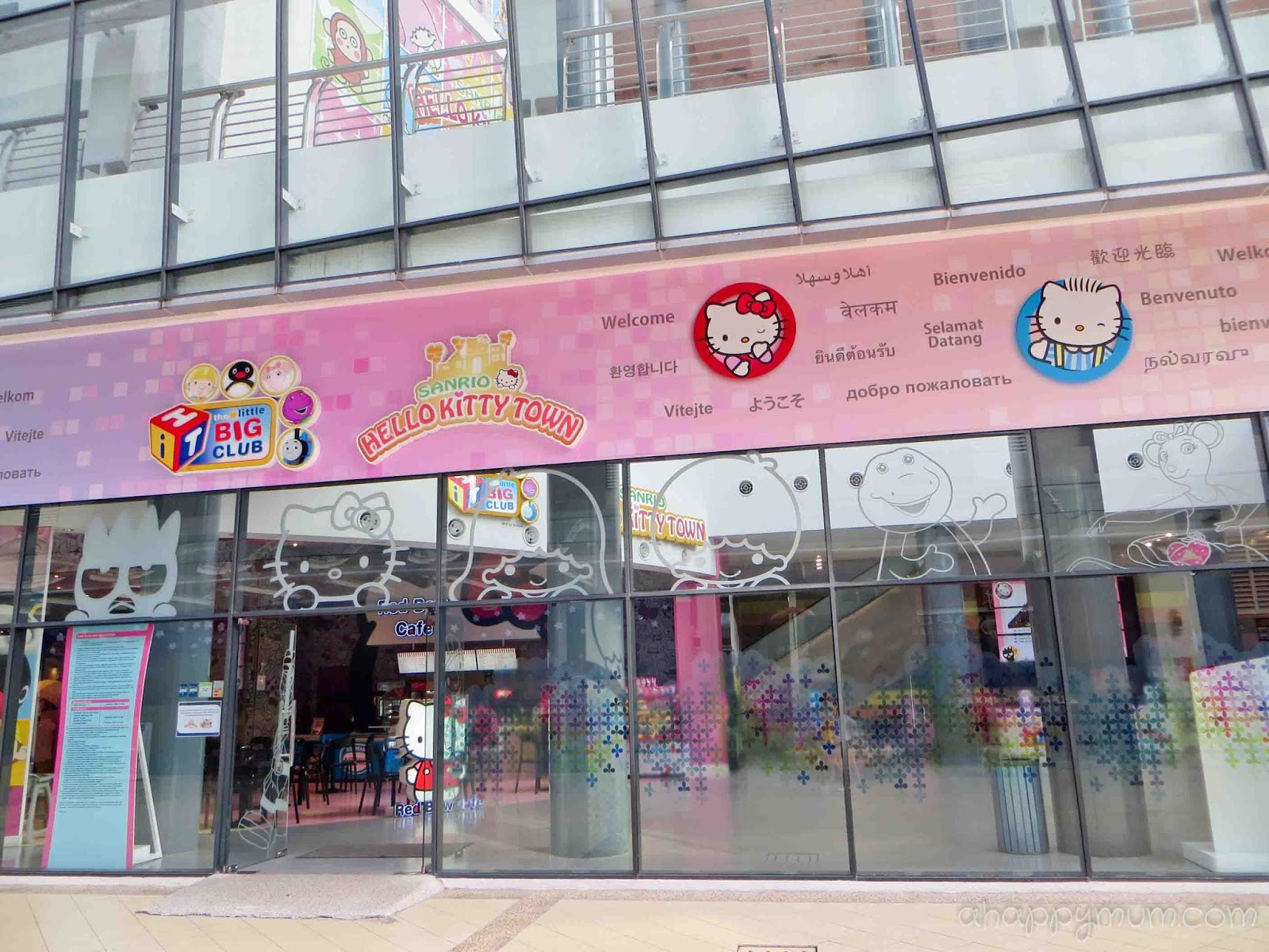 03a09c66d As the first one outside of Japan, Sanrio Hello Kitty Town consists of  various interactive and walk-through themed activities and boasts the  biggest ...