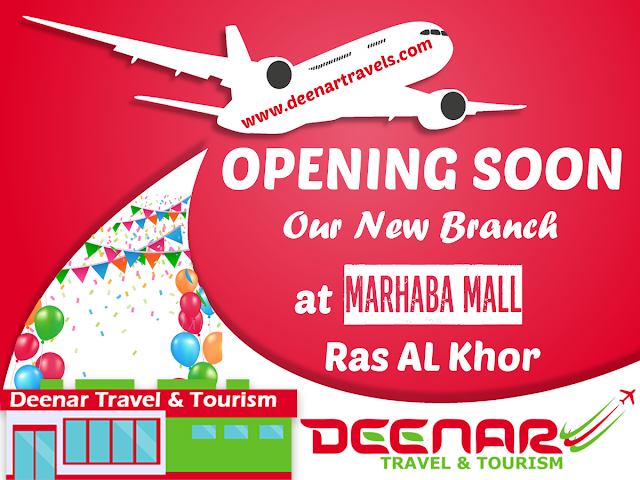 deenar travel & tourism, deenartravels, marhaba mall