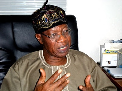 Lai Mohammed Knocked over Ban on Foreign Music Production
