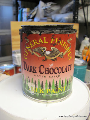 general finishes milk paint dark chocolate