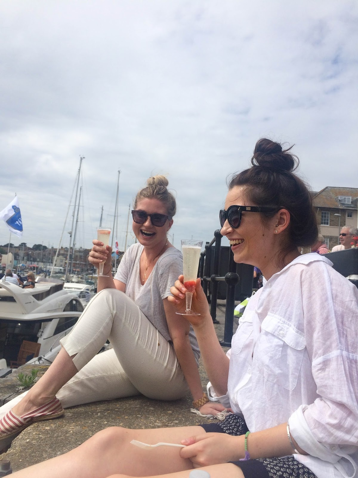 Pommery Dorset Seafood Festival in Weymouth, street food, food bloggers, lifestyle bloggers