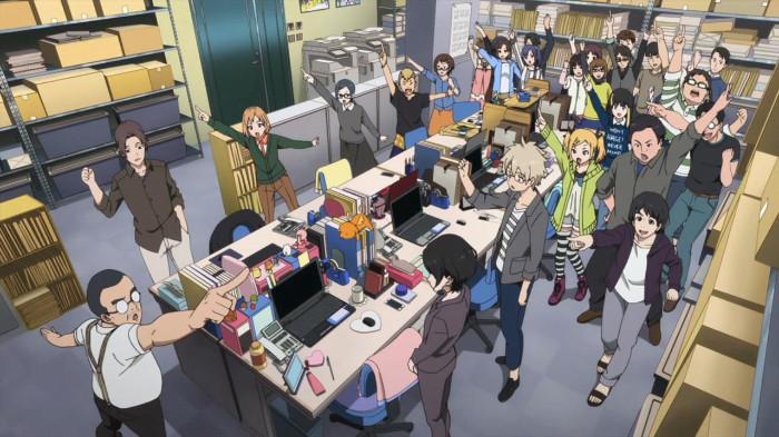 Pracownicy branży anime