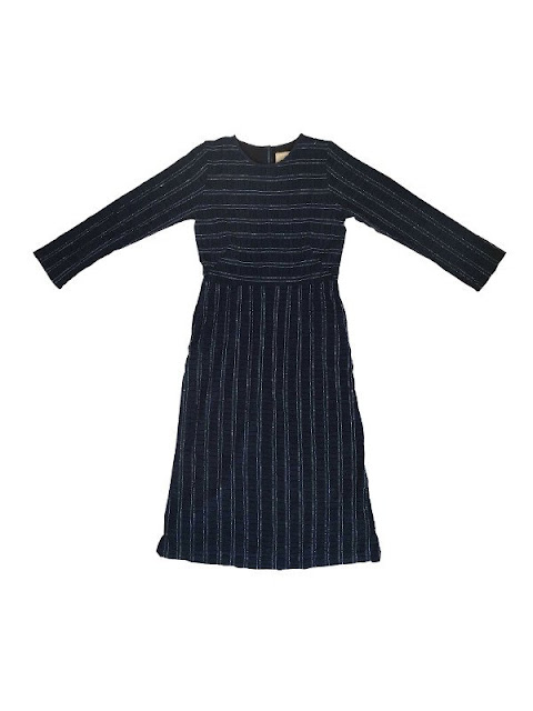 Ace & Jig Stillwater Dress in Eclipse