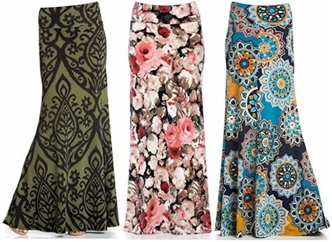 genuine shoes great look 100% satisfaction Daily Cheapskate: Print Maxi Skirts for $27.99 on Amazon
