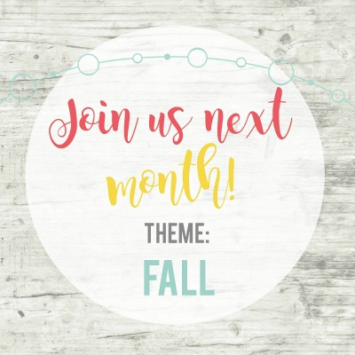 Inspire my creativity party september theme fall diy projects