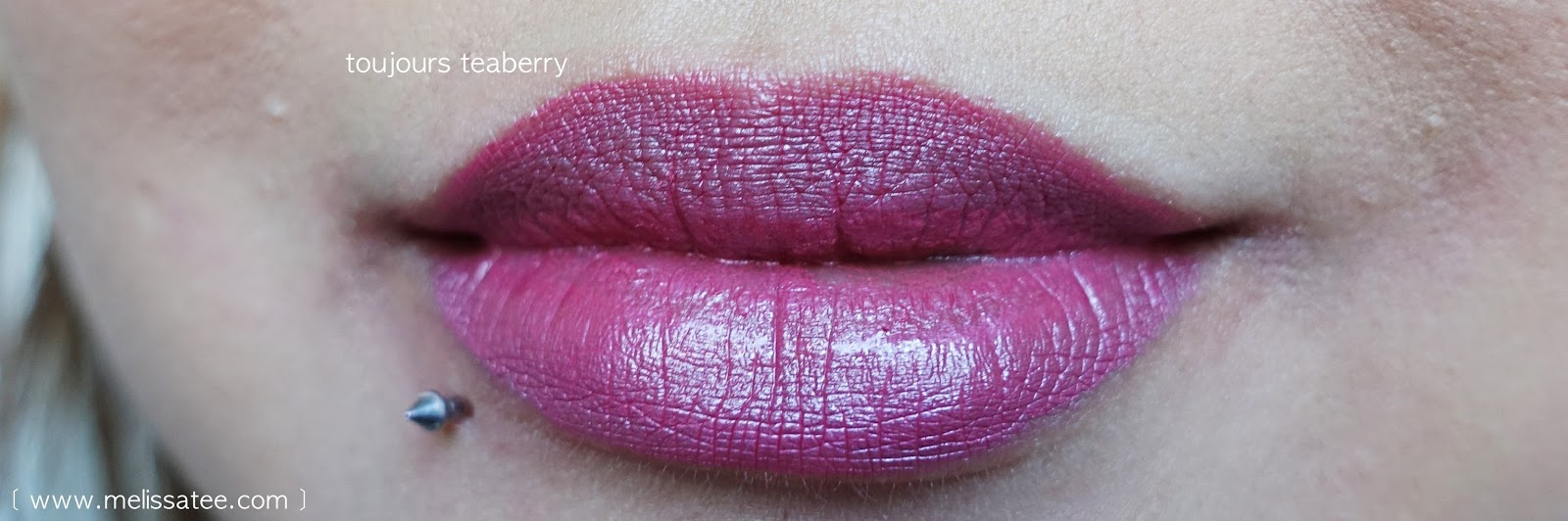 l'oreal infallible, l'oreal lipsticks, l'oreal infallible lip colour, toujours teaberry, l'oreal lipstick swatch, toujours teaberry swatch