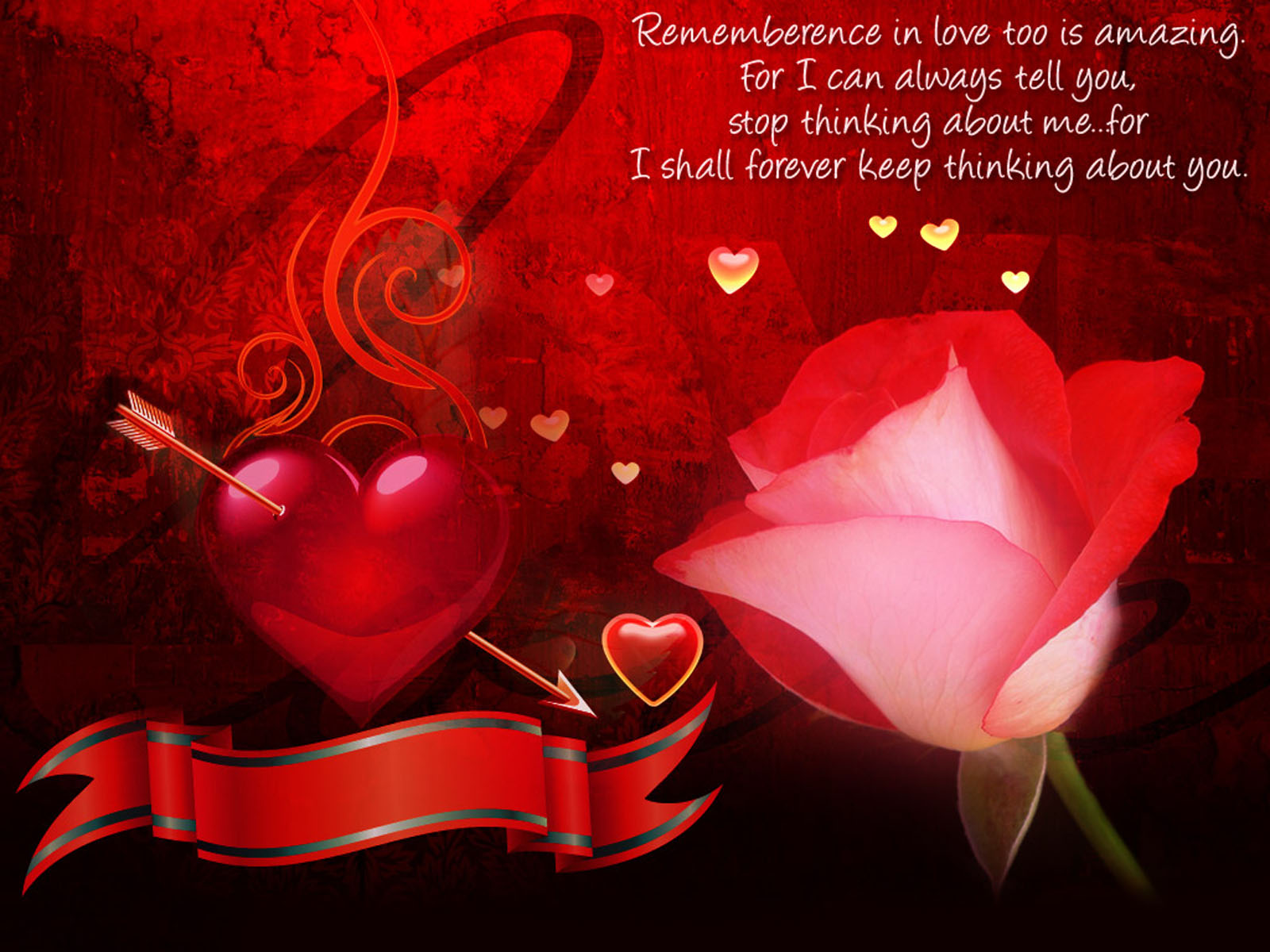 Love Quotes of Red Flower