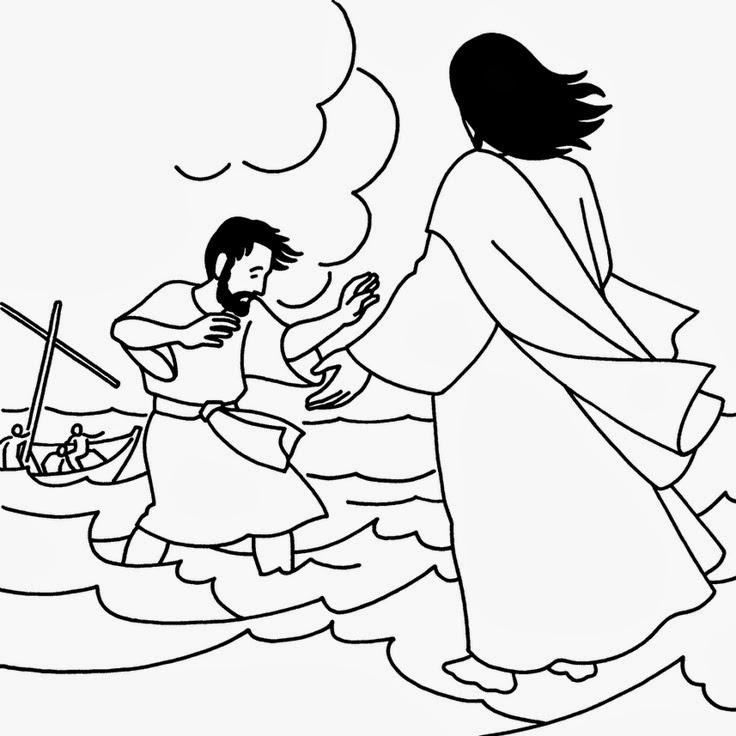ME ABURRE LA RELIGIÓN: JESÚS CAMINA SOBRE EL MAR