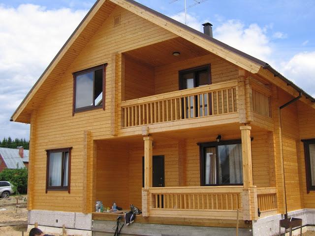Купить дом из клееного бруса в Крыму