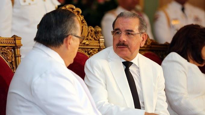 Danilo Medina recibirá mañana cartas credenciales de seis nuevos embajadores