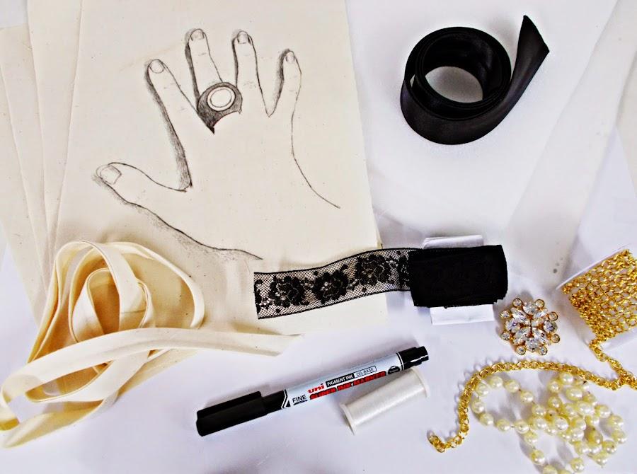 DIY-útiles de cocina-costura-manopla-guata-materiales