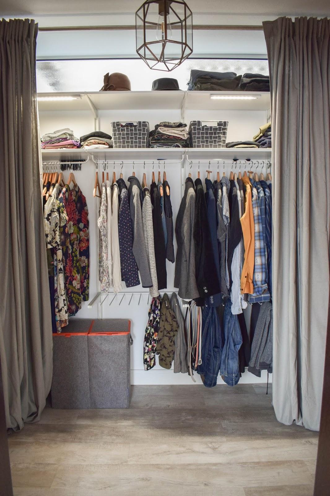 Flexible Aufbewahrung für Kleider mit Wenko Wäsche praktisch verstaut Kleiderschrank
