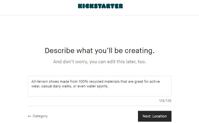 kickstarter funding crowdsourcing bootstrap business blog ecommerce