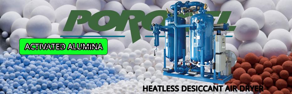 Porocel Dryocel D848 | Hạt nhôm hoạt tính Activated Alumina
