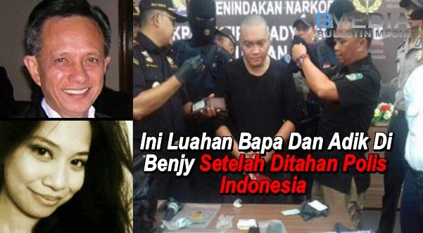 Ini Luahan Bapa Dan Adik Benjy Setelah Ditahan Polis Di Indonesia