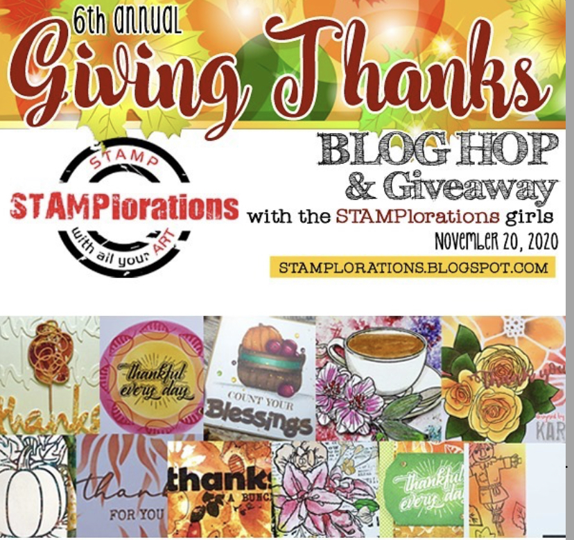 Stamploration Give Thanks