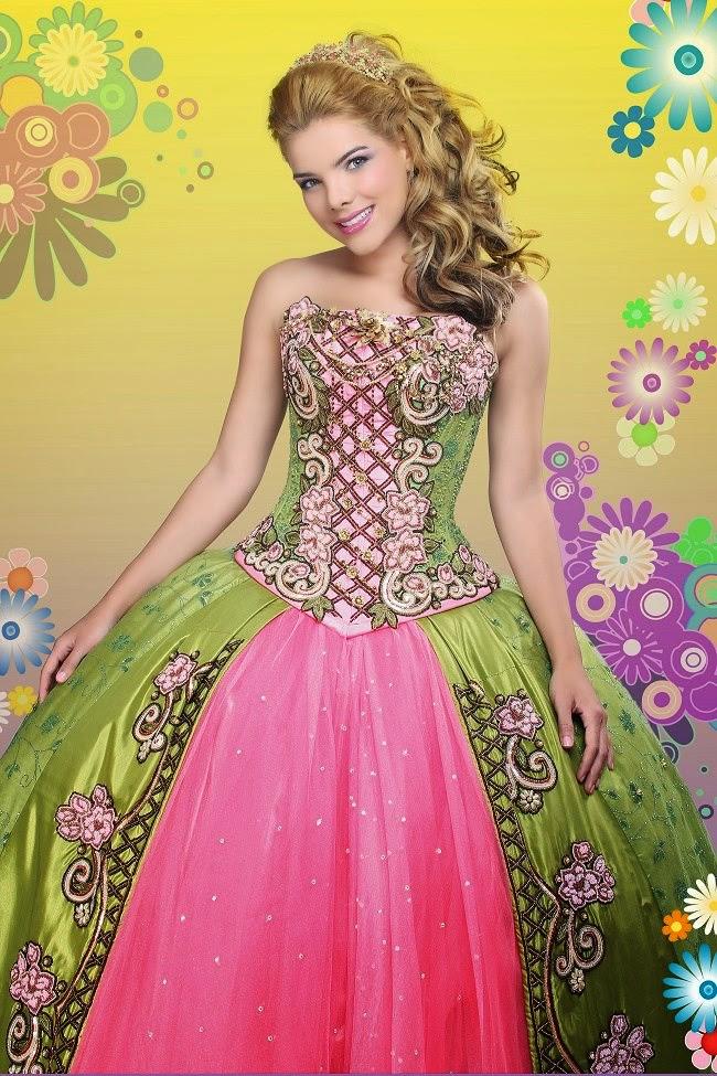 fotos de vestidos para quincea241eras y trajes para