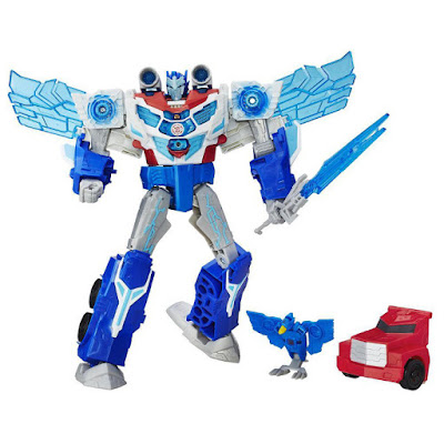 JUGUETES - TRANSFORMERS : Robots In Disguise Super-Energía Optimus Prime : Muñeco - Figura  POWER SURGE OPTIMUS PRIME Hasbro B7066 | A partir de 5 años Comprar en Amazon España