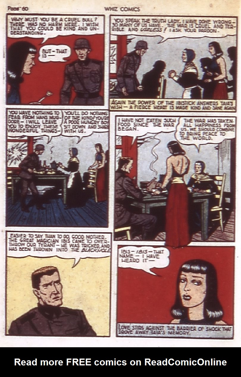 WHIZ Comics issue 22 - Page 62