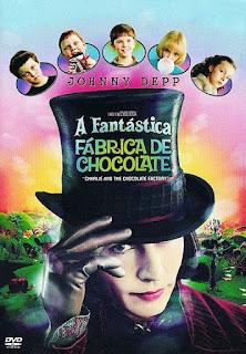 A Fantástica Fábrica de Chocolate (Charlie and the Chocolate Factory) - BDRip Dual Áudio