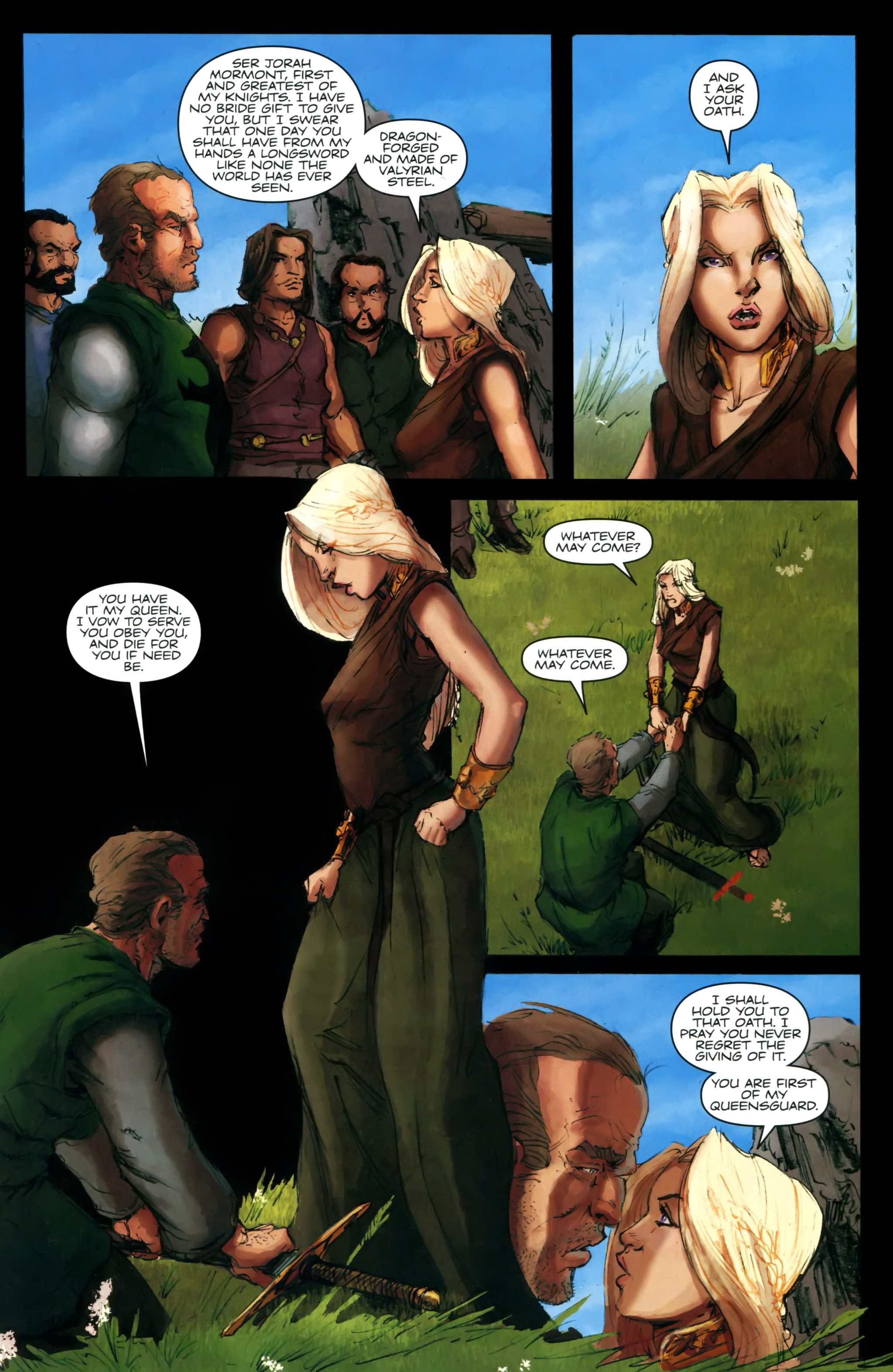 Read online A Game Of Thrones comic -  Issue #24 - 25