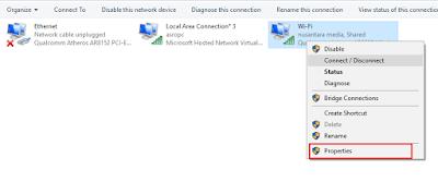 Cara Membuat Wifi Hotspot Pada PC tanpa software
