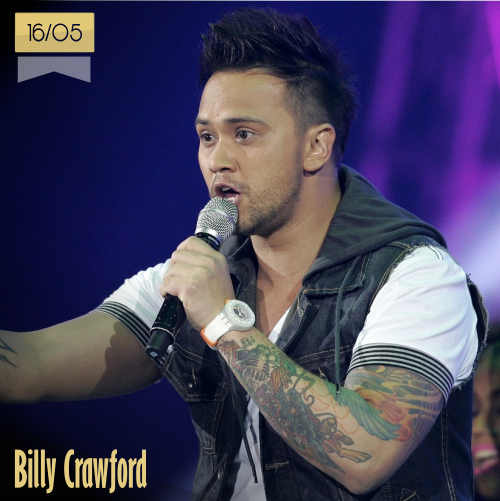 16 de mayo | Billy Crawford - @BillyCrawford | Info + vídeos