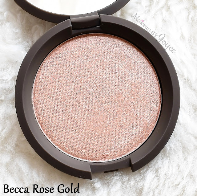 Becca Shimmering Skin Perfector Pressed Powder Highlighter Rose Gold Review