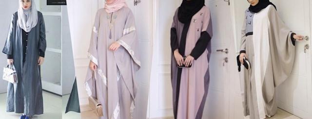 gambar beberapa model baju muslim terbaru 2016 sedang trends